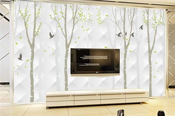 六大电视背景墙壁纸品牌介绍