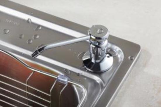 水槽皂液器可以改成水龙头吗?水槽皂液器如何拆除?